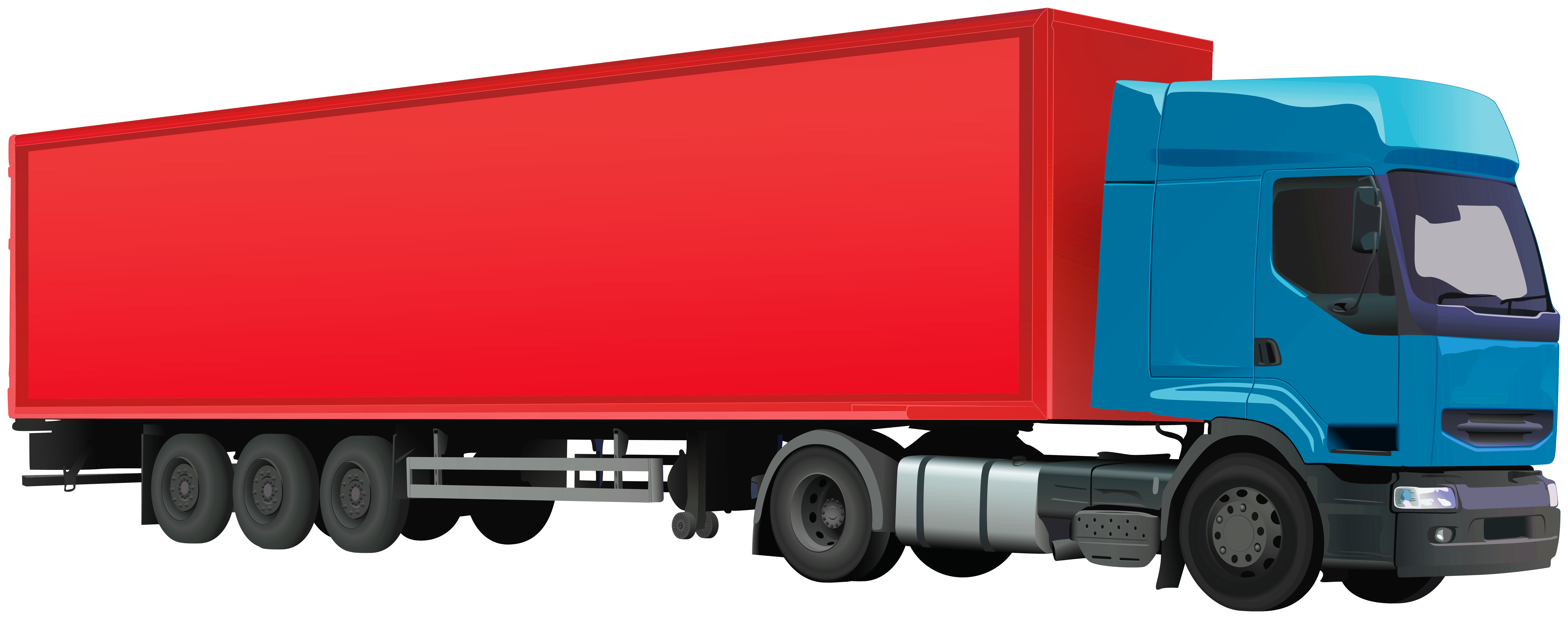 Truck clipart container truck. Png clip art best
