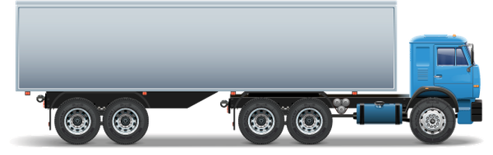 trailer clipart container truck