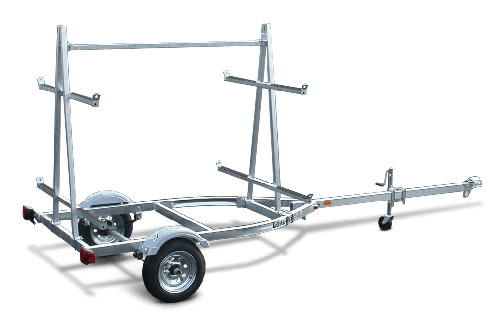 Trailering clip chassis. Load rite canoe kayak
