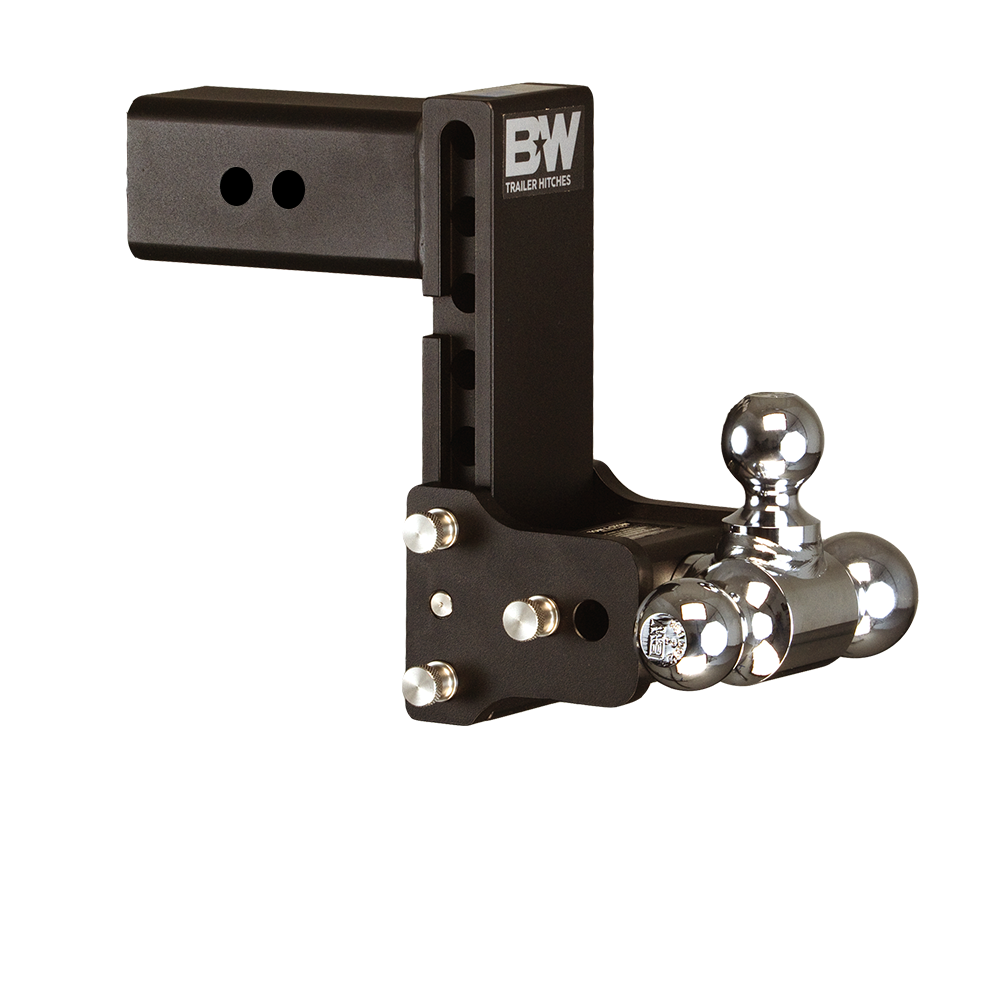 Trailering clip chassis. Tow stow adjustable ball