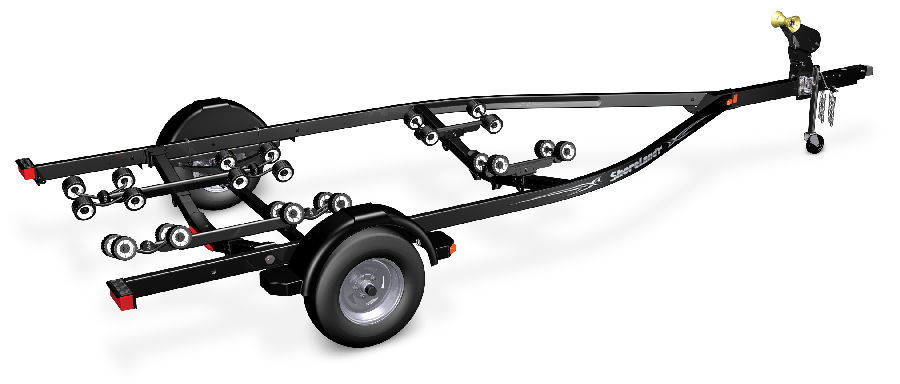 Trailering clip chassis. Boat trailer options shoreland