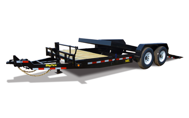 Trailers clip chassis. X heavy duty