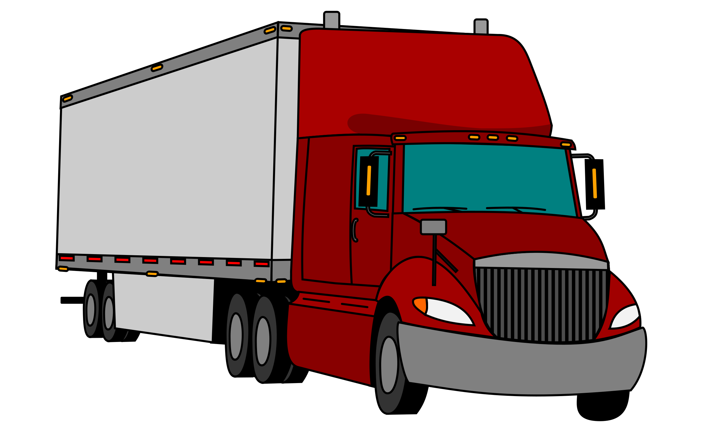 Trailers clip. Tractor trailer icons png