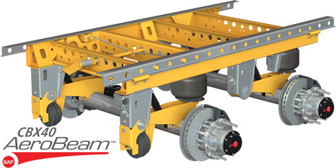 Trailers clip chassis. Products trailer axles and