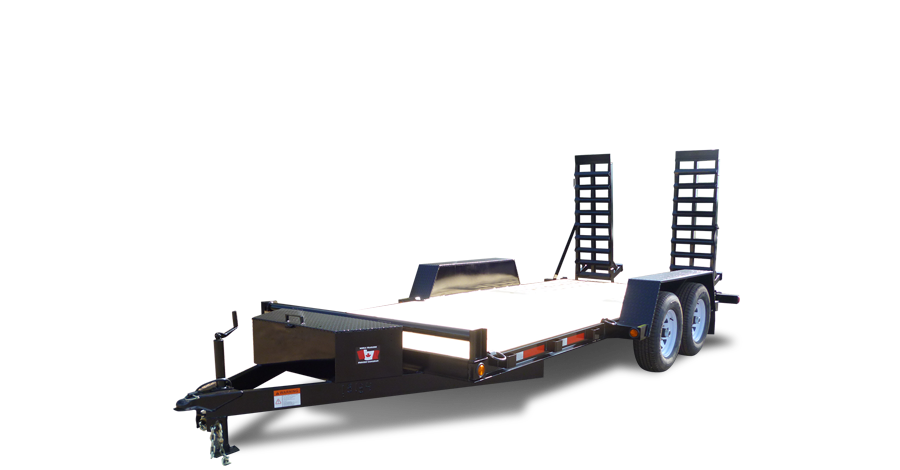 Trailers clip chassis. Miska trailer factory low