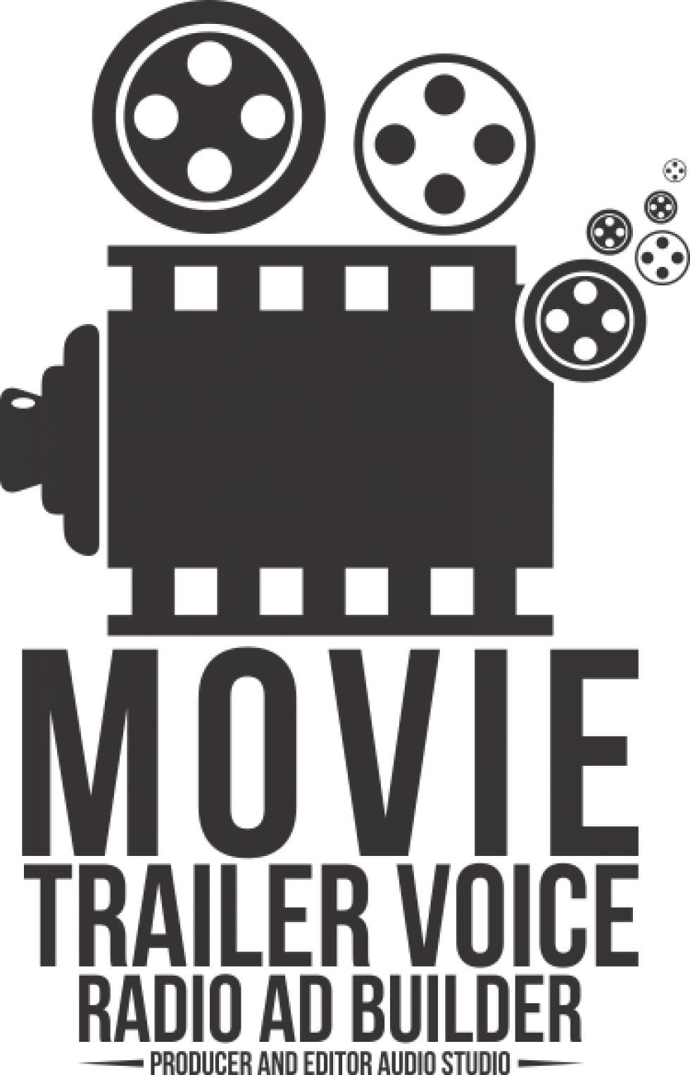 Trailers of film png movie. Trailer voice and radio