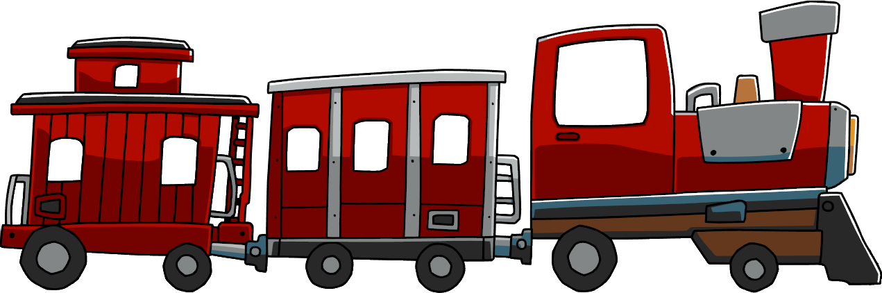 Train cartoon png. Image assembly scribblenauts wiki