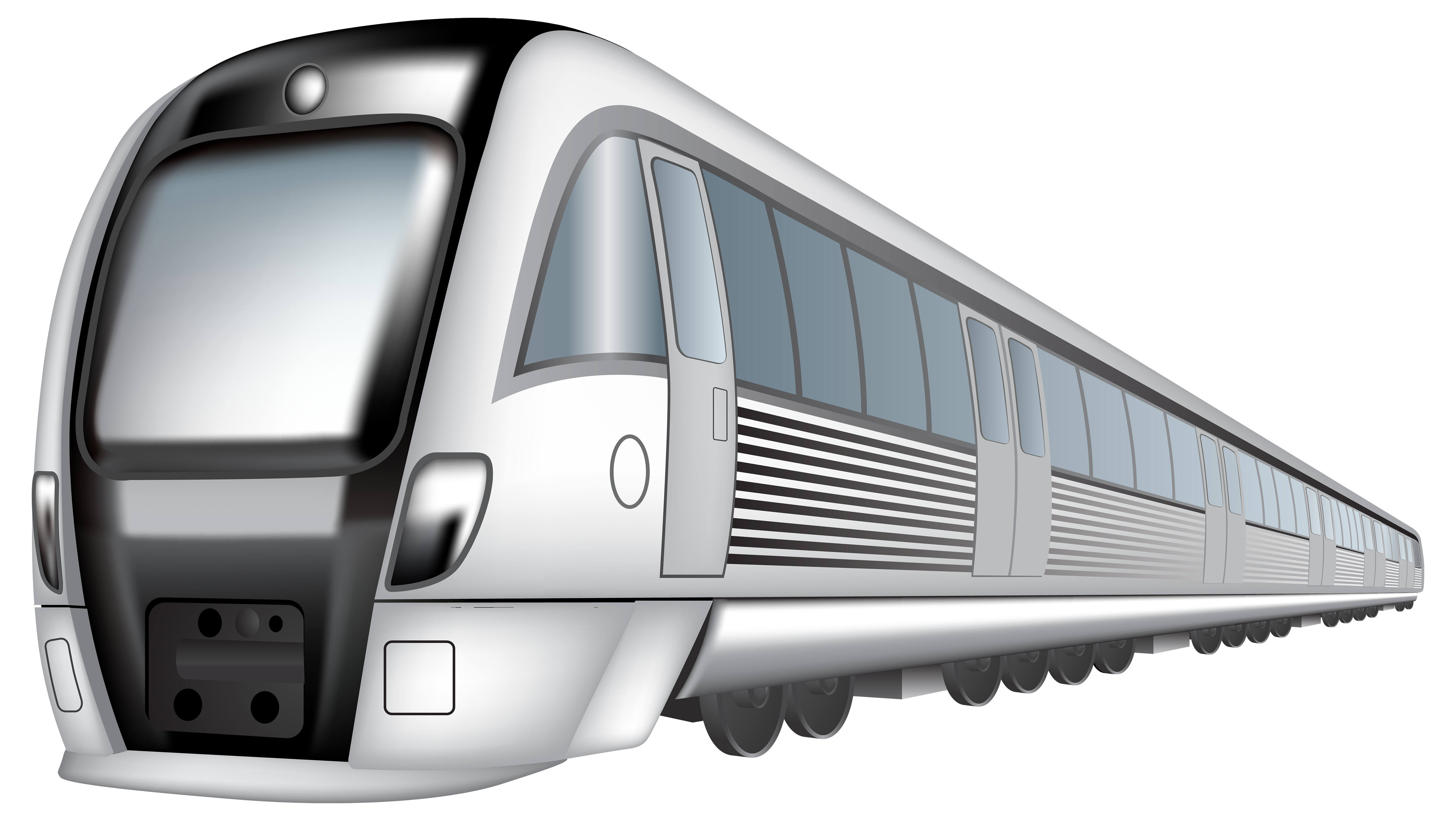 Transparent train metro. Fast png clipart best