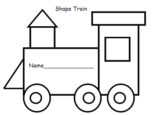 Trains clipart template. Train templates pencil and