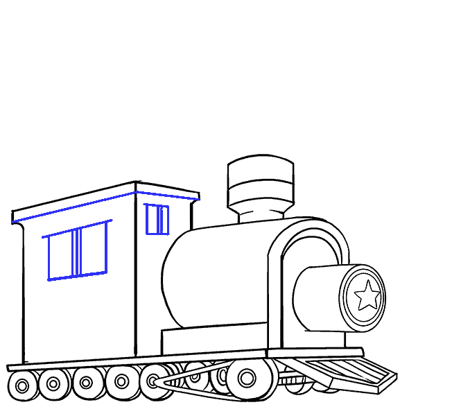 Point drawing railroad. How to draw a