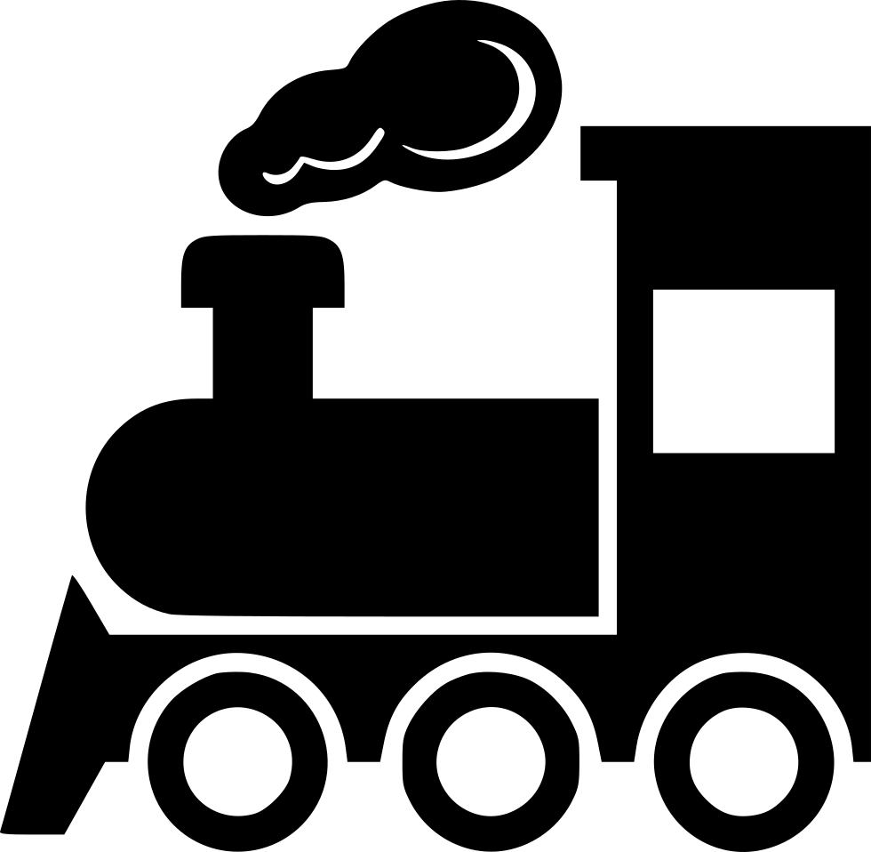 Svg 2 png. Steam train icon free