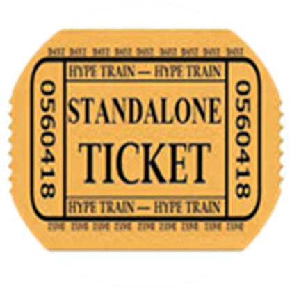 Train ticket png. Hype roblox