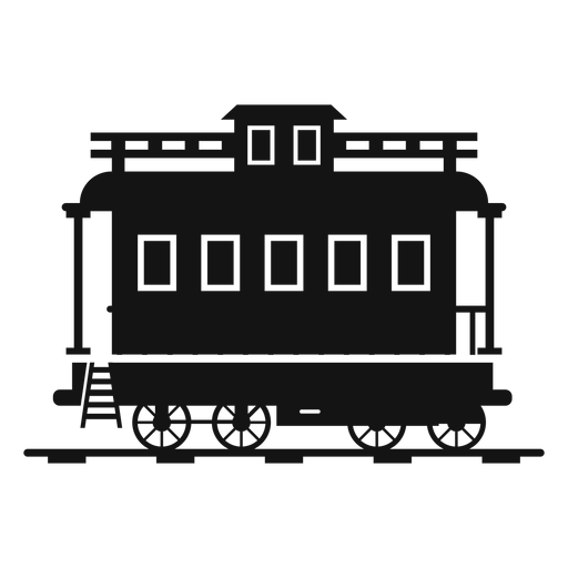 Transparent train svg. Wagon station silhouette png