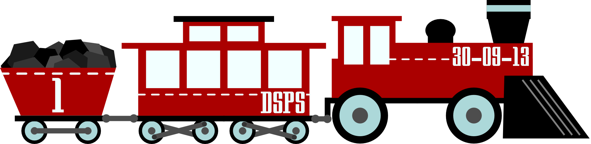 Train vector png. Vintage toy on