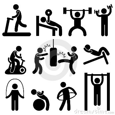 Training clipart personal training. Fitness