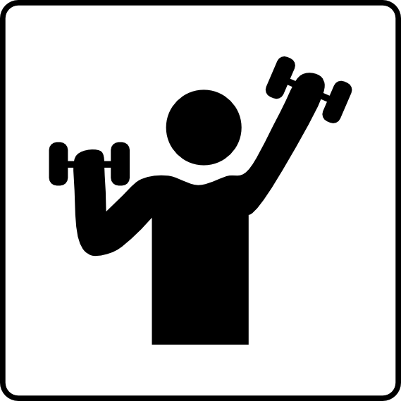 Training clipart personal training.