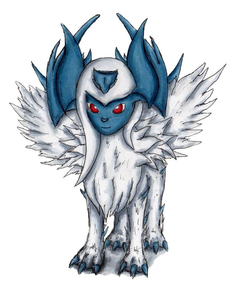 Transformation drawing. Ultra absol by ashravan
