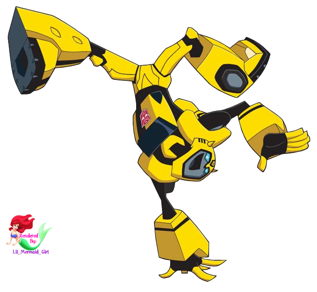 Transformers clip. Free animated bumble bee
