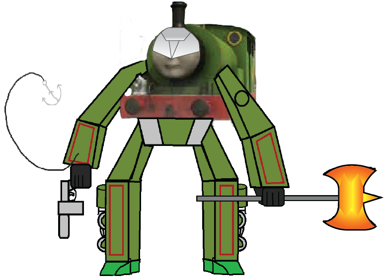 Transformer clip file. Image percy png the