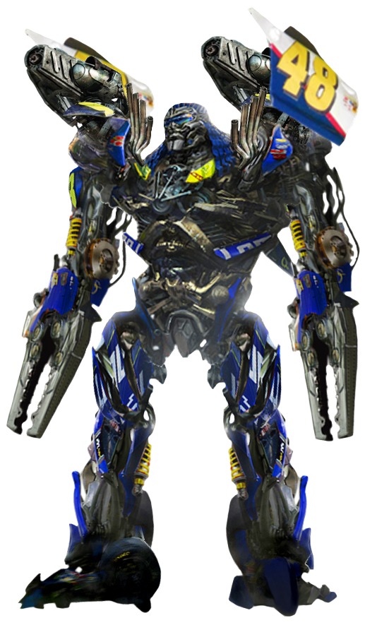 Transformers transparent. Custom topspin render by