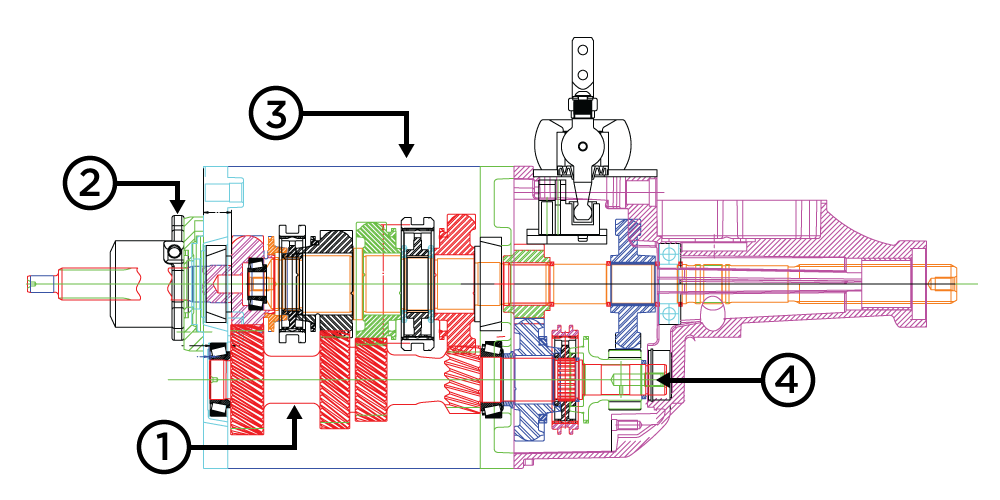 Transmission drawing reverse gear. Learn about legend s