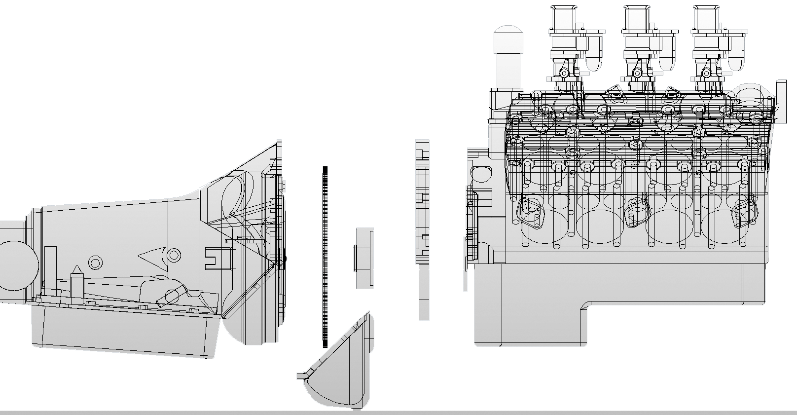 Transmission drawing tech. Wilcap flathead ford v