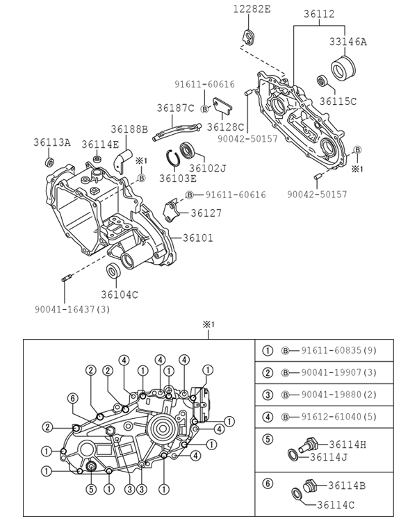 Daihatsu Transmission Diagram