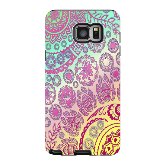 Transparent 5 artistic. Pastel paisley galaxy note