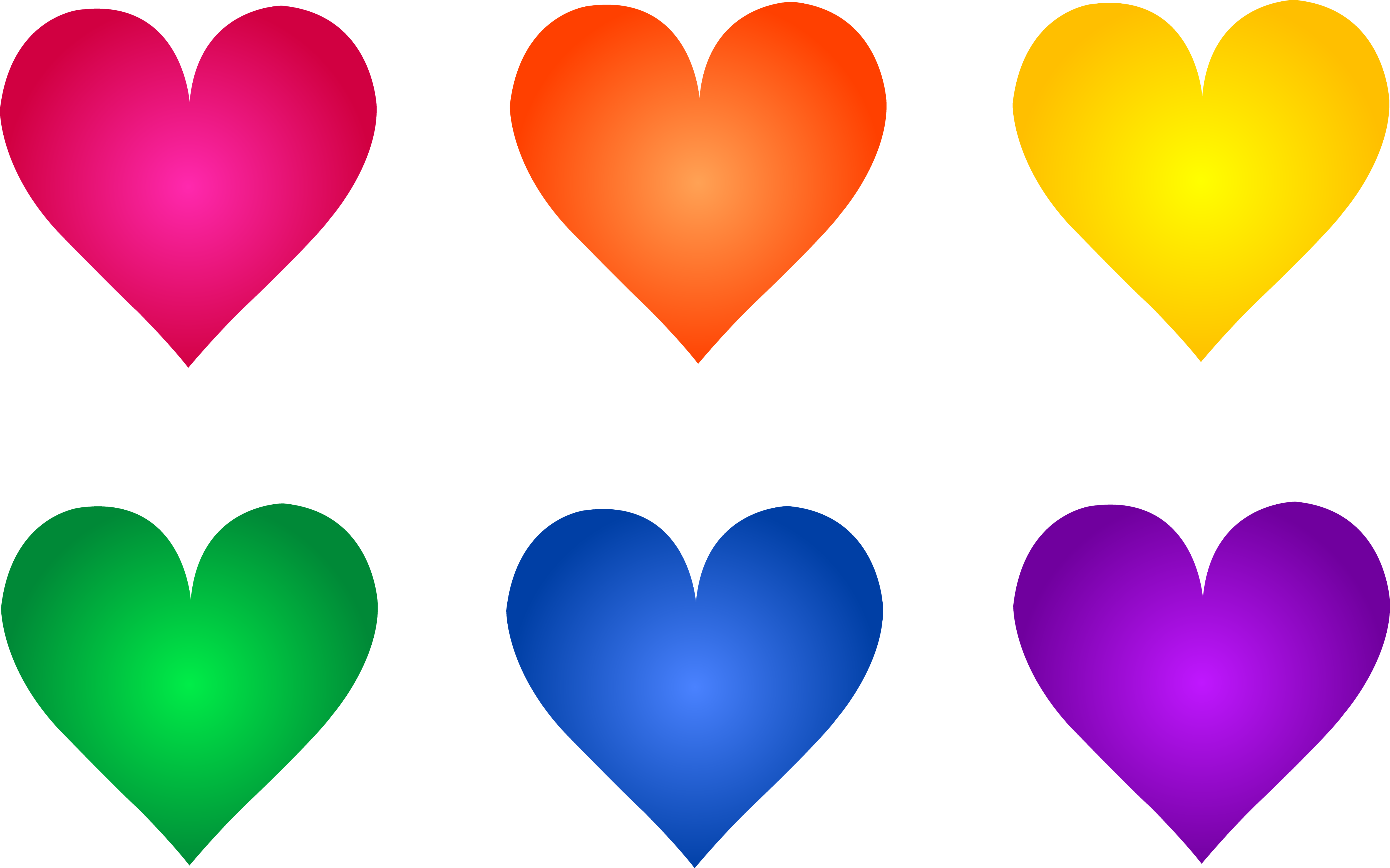 Transparent 5 colored. Collection of free clipart