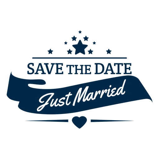 Vector pricing price badge. Just married wedding transparent