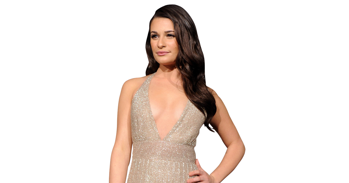 Transparent actress embarrassing. Lea michele on new