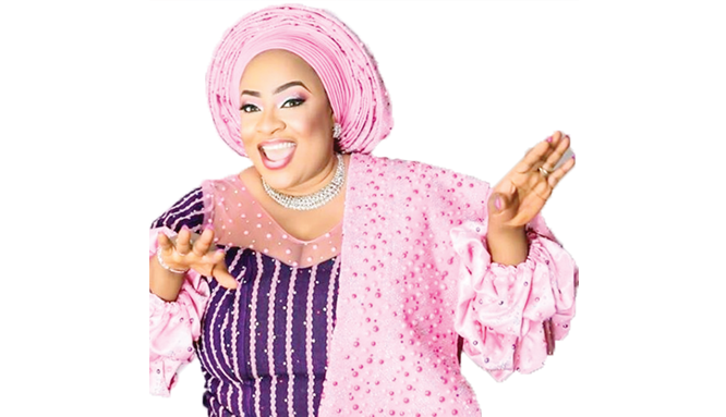 Transparent actress visible. Meet newly fortified nollywood