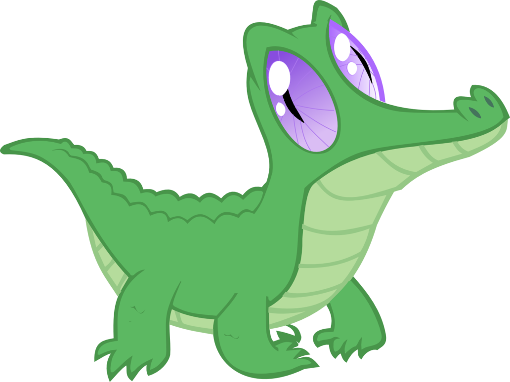 transparent alligator mlp
