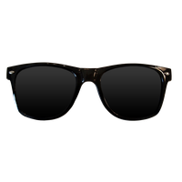 Transparent alligator sunglasses. Download free png photo