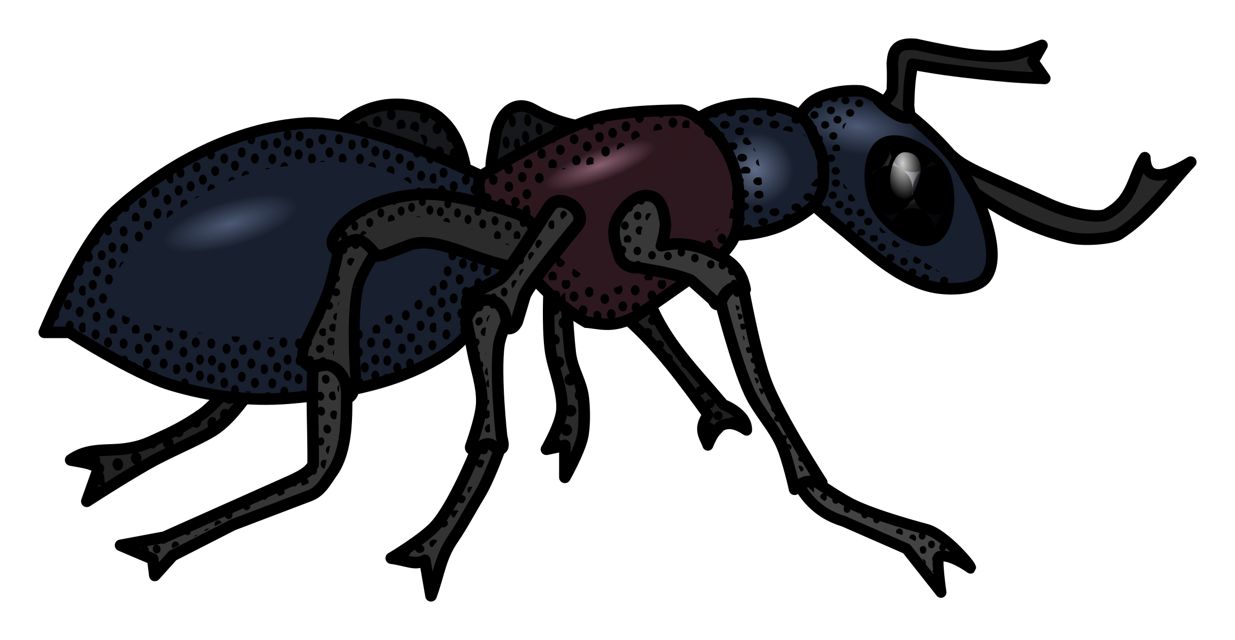 Transparent ant coloured. Icons png free and