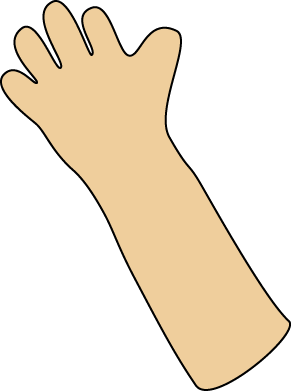 Transparent arms right arm. Clipart suggest free