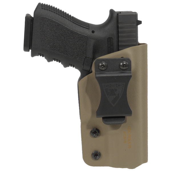 Firearm clip glock 23. Cdc holster right hand