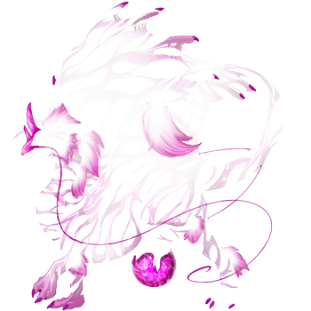 Transparent aura. Image crystalspine accent png