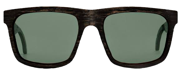 Transparent aviators eyeglasses. Loch wooden eyewear from