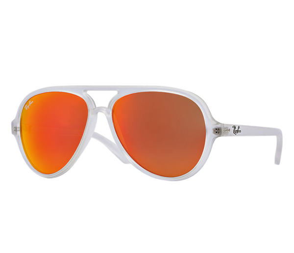 transparent aviators grey gradient