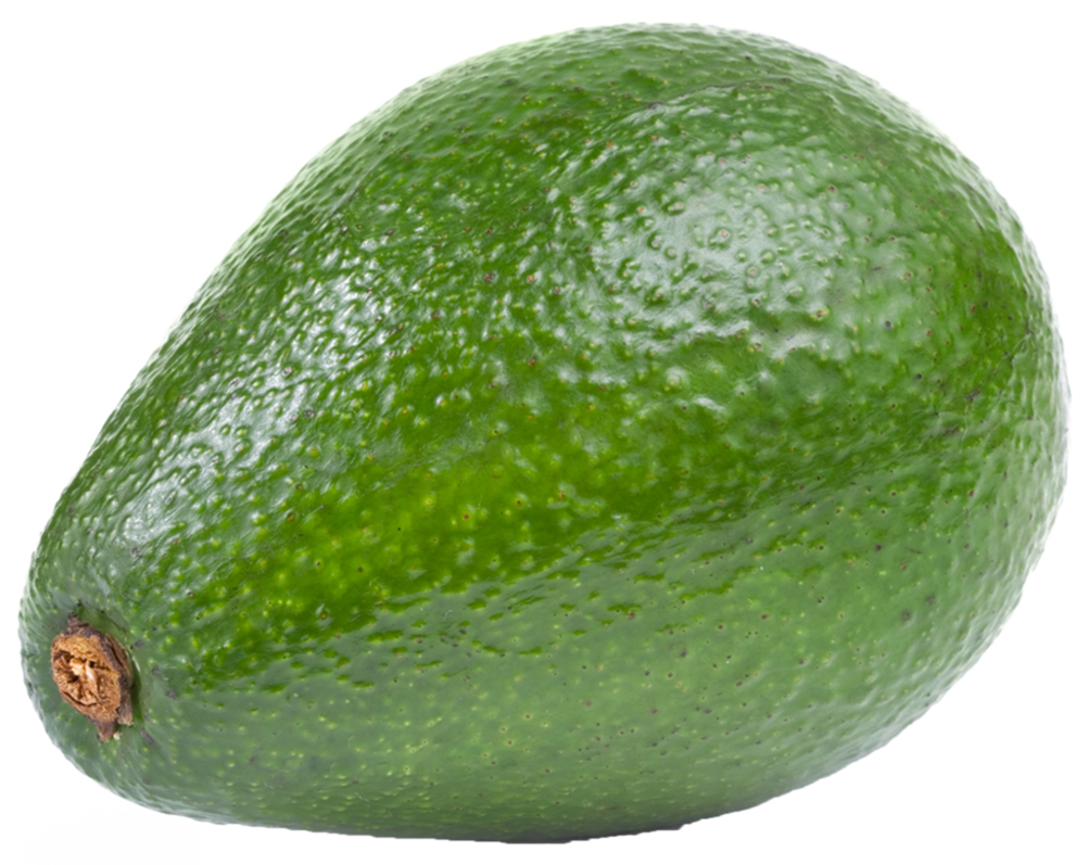 Transparent avocado background. On a by prussiaart