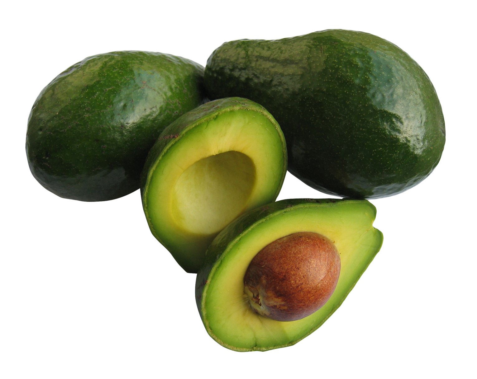 Transparent avocado open. Stickers png sticker