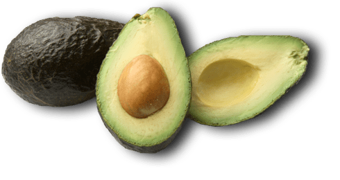 Transparent avocado open. Png sticker share it