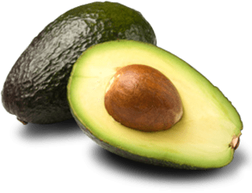 Transparent avocado open. Download free png dlpng