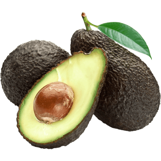 Transparent avocado open. Png for free download