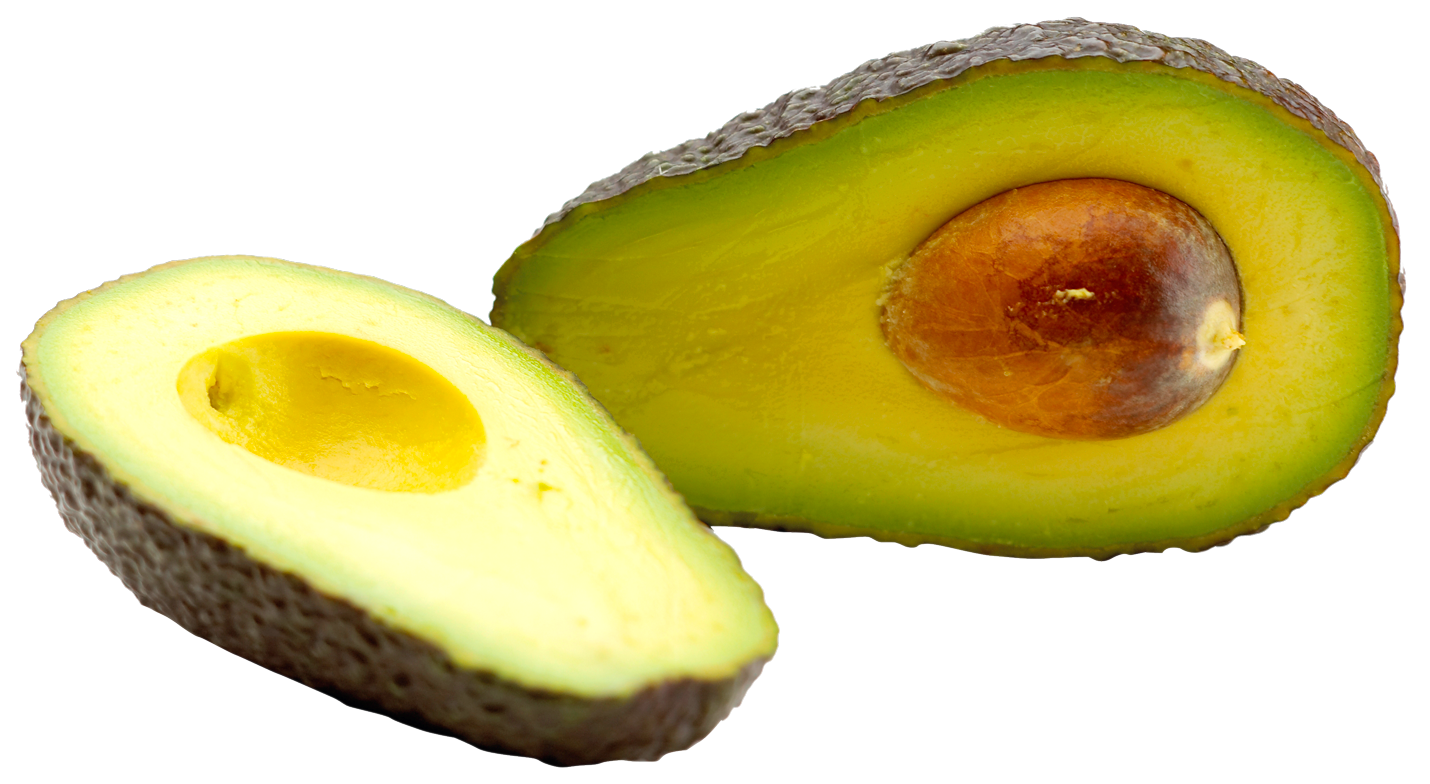 Transparent avocado sliced. Png image purepng free