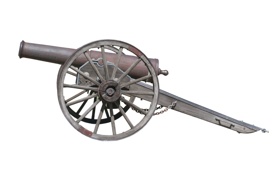 Gettysburg cannon png
