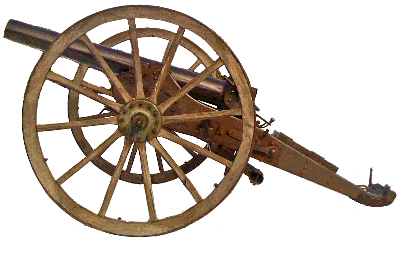 Cannon without wheels png