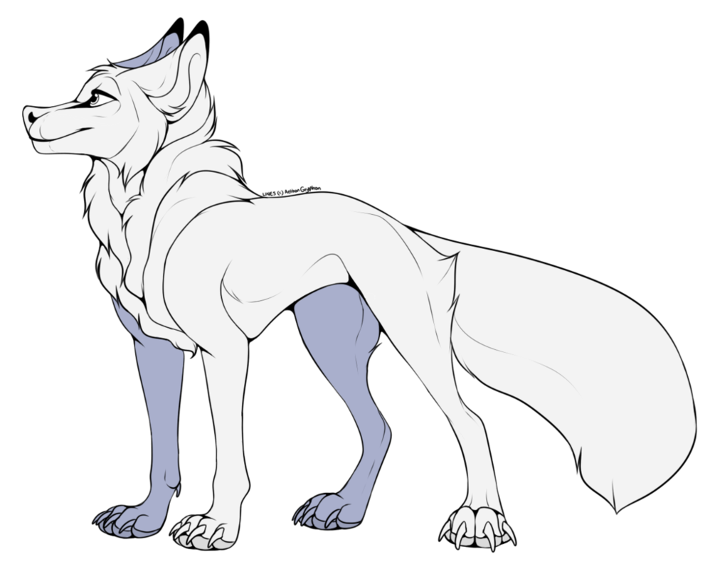 Transparent base doggo. Free to use f