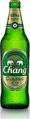 Transparent beer chang. Png image